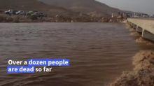 Flash floods hit northern Yemen