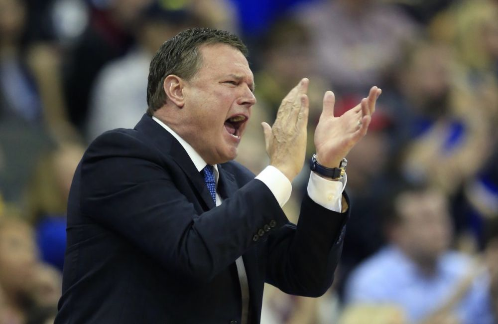 Bill Self has been staunchly unwilling to schedule Missouri since the Tigers left the Big 12. (AP)