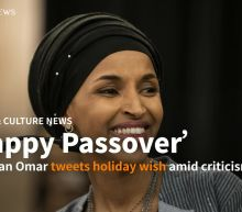 Rep. Ilhan Omar tweets 'happy Passover' amid criticism