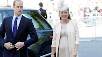 Prince William's wife, Kate, delivers baby boy