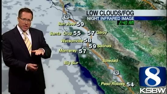 Get Your Wednesday KSBW Weather Forecast 7.17.13