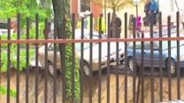 """New video captures car falling in Baltimore """"sinkhole"""""""