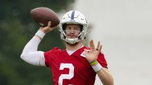 Colts QB Carson Wentz misses practice with foot injury, reportedly out indefinitely