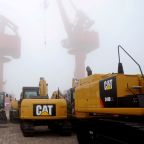 Caterpillar's shares tumble on disappointing profit outlook