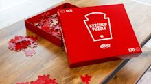 Heinz Ketchup Releases Ridiculously Slow, All-Red Puzzle to Pass the Time