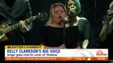 Kelly Clarkson performs cover of 'Shallow'