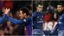 LaLiga: Neymar edges past Bale in race to dethrone the kings of Real Madrid and Barcelona