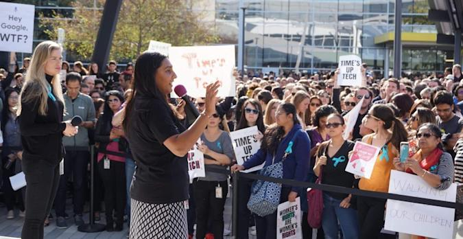 Google Walkout for Change