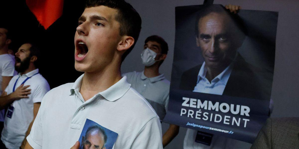 Présidentielle 2022: l'électorat d'Éric Zemmour disséqué par deux études