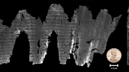 Scientists Read Ancient Hebrew Scroll Without Opening It