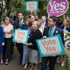 Irish Vote to Liberalize Abortion Law, Exit Poll Signals