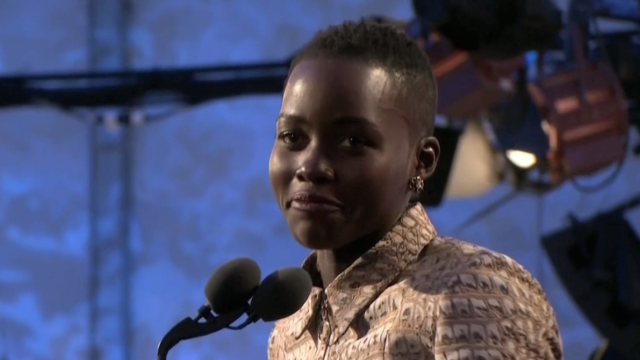 Lupita Nyong'o Thanks Her Mom in Acceptance Speech
