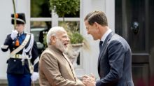 Modi jets into Netherlands, 'India's gateway to Europe'