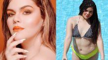 Filha de Fabiana Karla faz sucesso como cantora e modelo plus size