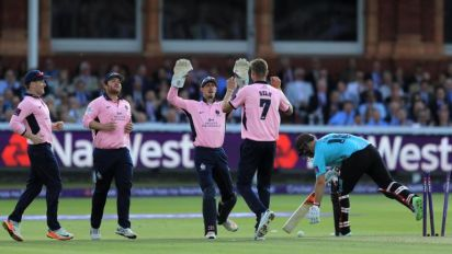Middlesex's rising star Tom Helm is on England's radar