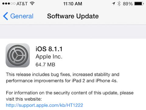 How much does iOS 8.1.1 improve your iPhone 4s?