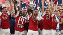 Arsenal beat 10-man Chelsea to win FA Cup after Pierre-Emerick Aubameyang double