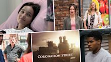 Next week on 'Coronation Street': Alina trapped in fire, but is Hope to blame? Plus James takes on the police following racist attack (spoilers)