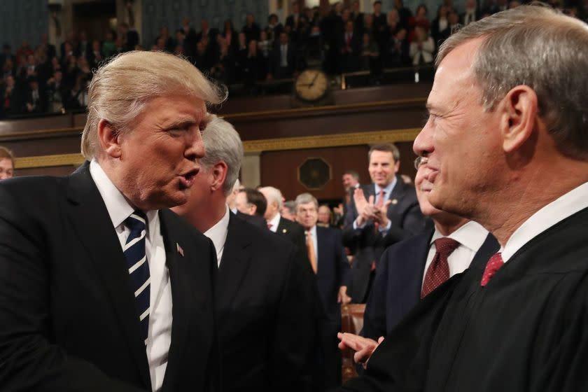 Supreme Court deals Trump a defeat, upholds demand for his tax returns