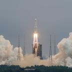 Chinese rocket debris set for re-entry by early Sunday - tracking centres
