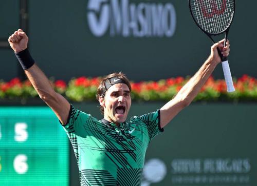 Le grand Federer est de retour