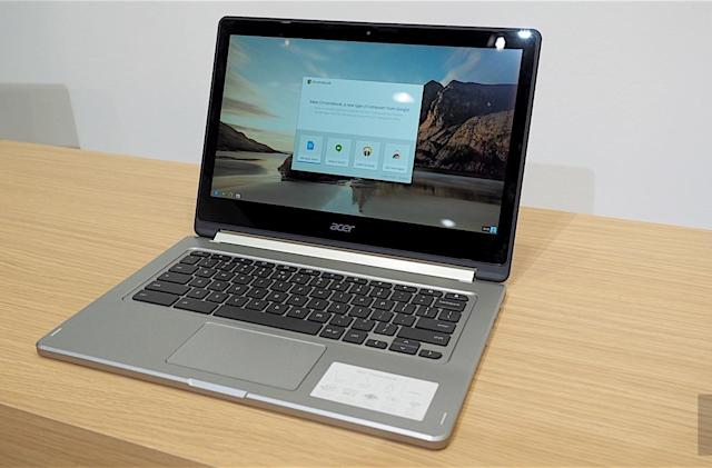 Acer's latest convertible Chromebook is bigger and beefier