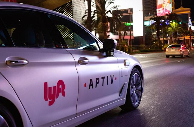 Lyft puts 30 self-driving cars to work in Las Vegas