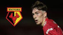 Man Utd midfielder Garner secures loan move to Watford