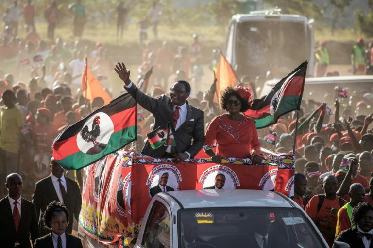 Opposition Malawi Congress Party (MCP) leader and now president, Lazarus Chakwera (L) came to power after a rerun election