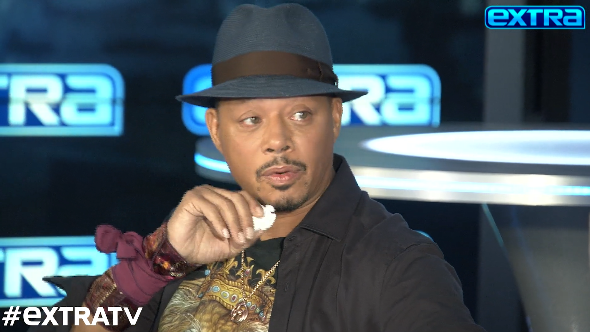 Terrence Howard gets emotional talking about Jussie Smollett: 'I miss my son'