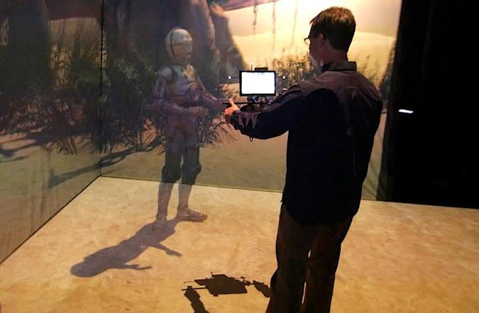 ILMxLab's holographic tech lets you reach out and touch C-3PO.