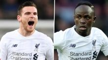 Robertson admits to bust-up with Mane in Liverpool dressing room