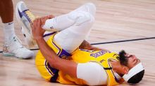 """Anthony Davis on sprained ankle: """"Rolled it pretty bad… I'll be fine"""""""