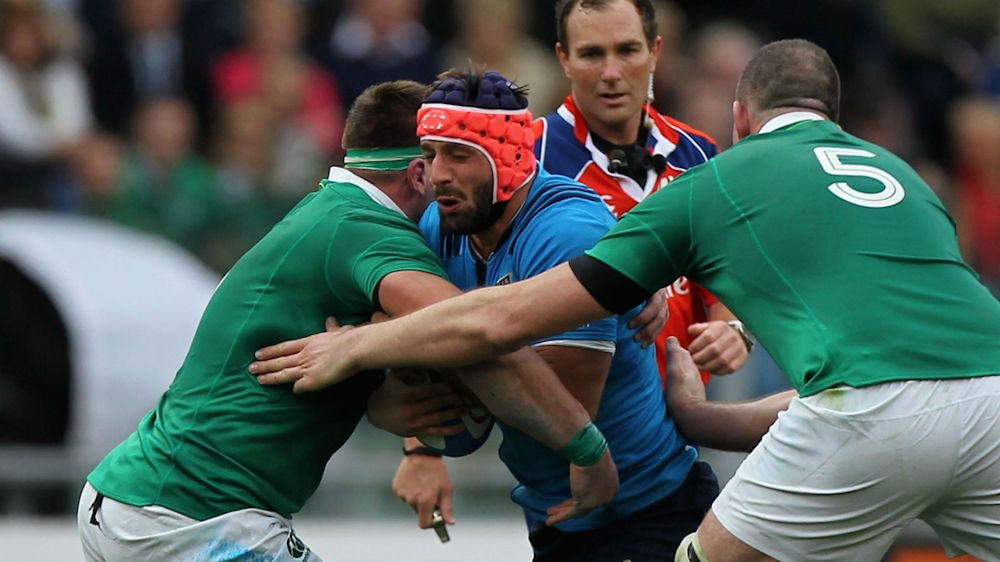 Esposito ruled out of Six Nations with ACL tear