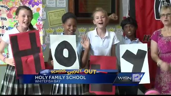 9/30 Shout Out: Mrs. Matheis, Holy Family