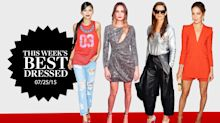 Cara Delevingne, Katie Holmes, & Charlize Theron Sparkle As This Week's Best Dressed