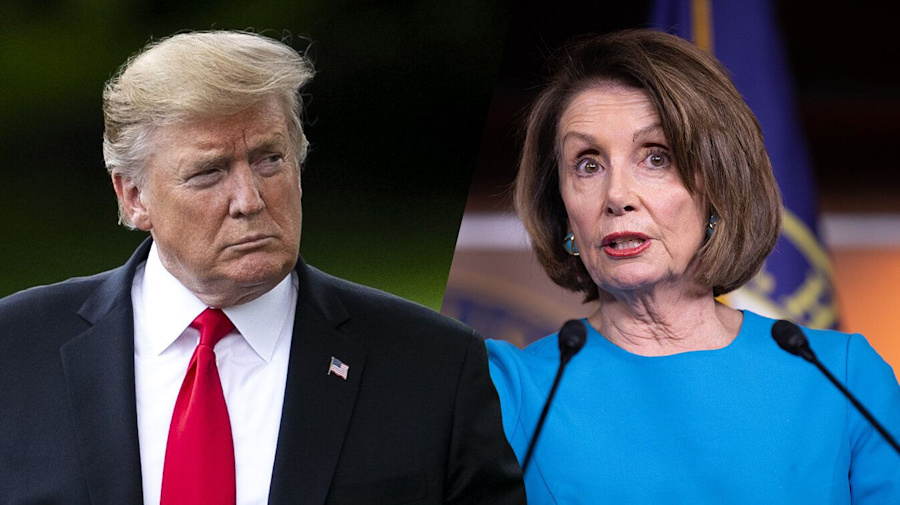 Trump fires back at Pelosi for 'cover-up' comment
