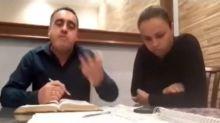 """Sem perceber que estava sendo gravado, pastor ofende esposa antes de live: """"imbecil"""""""