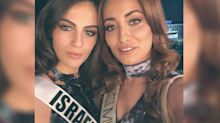 Miss Iraq and her family reportedly fled the country after she took a selfie with Miss Israel