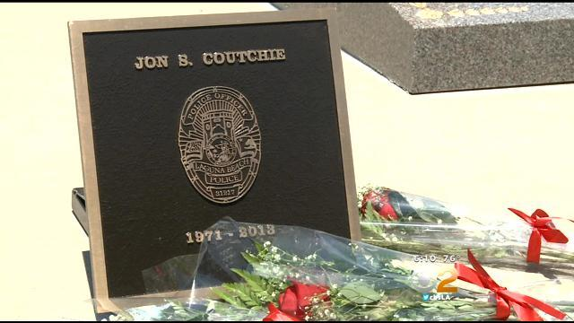 Fallen Laguna Beach Officer Honored