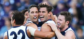 Geelong star quarantined in big AFL grand final scare