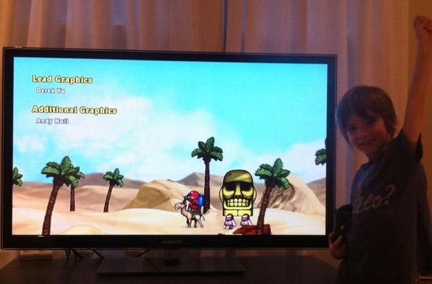 Strict retrogaming regimen produces 8-year-old who beat Spelunky