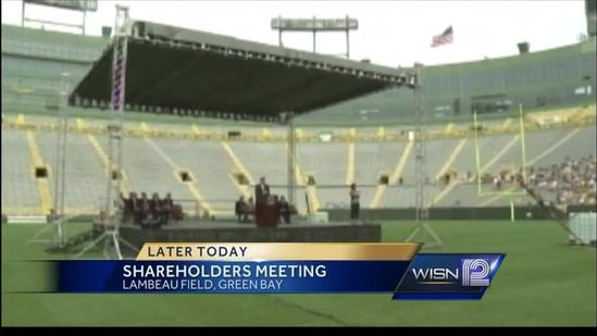 Packers shareholders to meet at Lambeau Field Wednesday