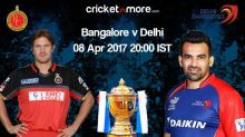 Delhi Daredevils fancy winning start vs RCB in IPL-10