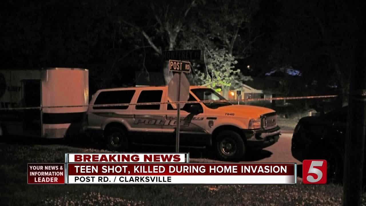 Teen Shot, Killed In Clarksville Home Invasion [Video]
