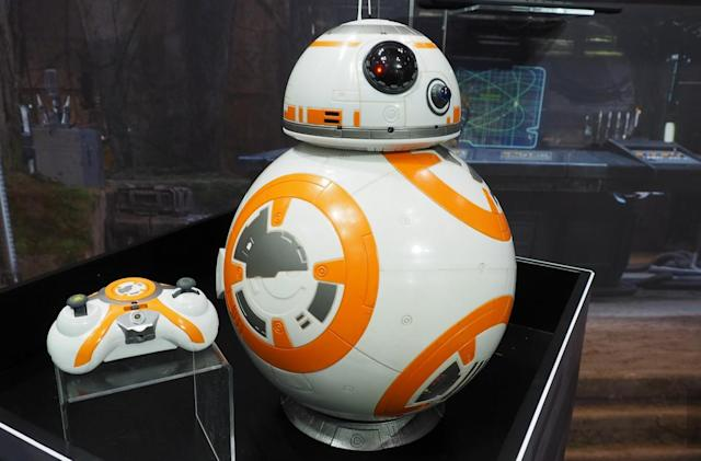 Spin Master's BB-8 is still cute and you can get one this year