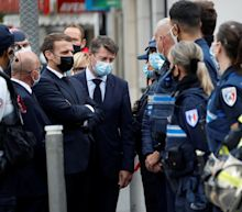 France terror attacks – and global outrage – leave Macron facing greatest test of his presidency