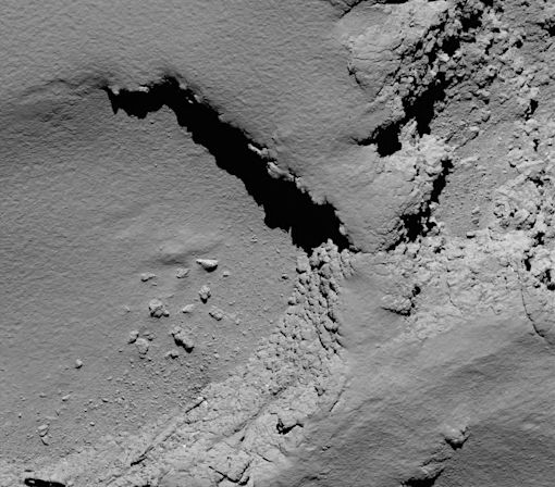 Rosetta Spacecraft Lands On Comet 67P