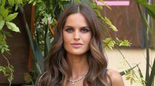 Izabel Goulart Sizzles in a High-Rise Bikini, Neon Sweatshirt & Shadow Nikes