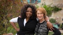 Hugging It Out With Oprah